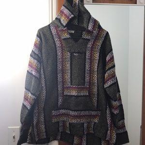 Other - Vintage Mexican Baja Hoodie Pullover